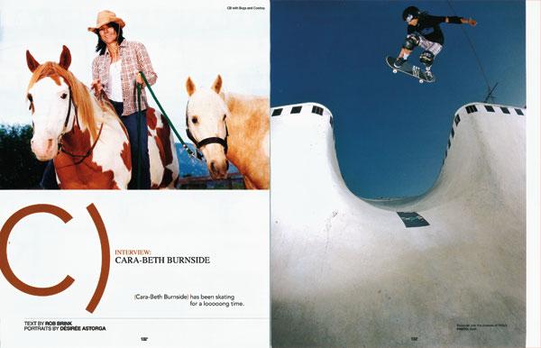 The Skateboard Mag | Cara-Beth Burnside Interview