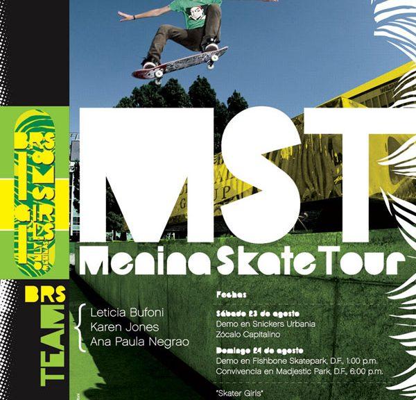 Menina Skate Tour