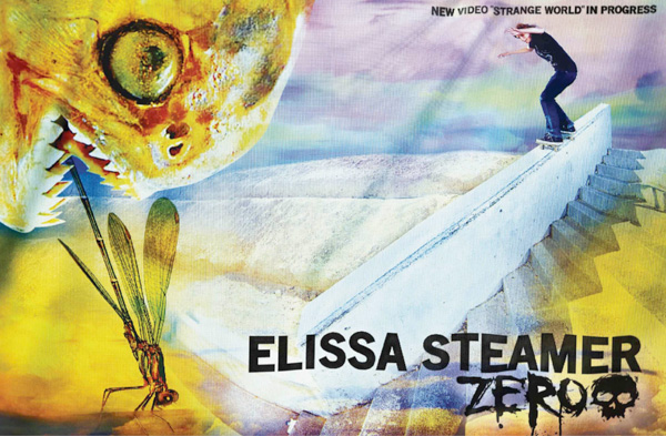 Elissa Steamers New Zero Ad