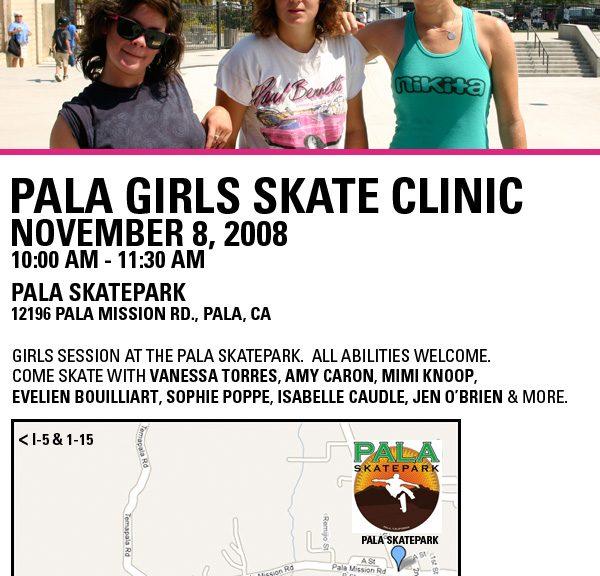 Poseiden | Pala Girls Skate Clinic