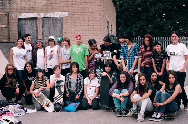 Girl Skate Jam UK Results 2009