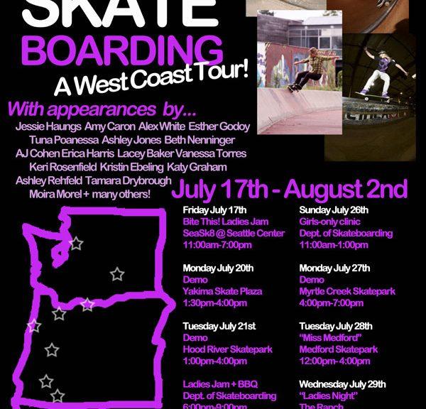 Skate Like a Girl West Coast Tour