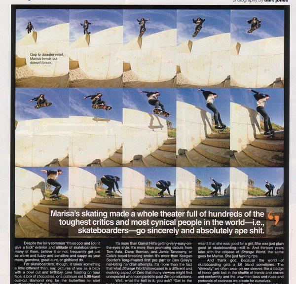 The Skateboard Mag | Marisa Dal Santo Flick
