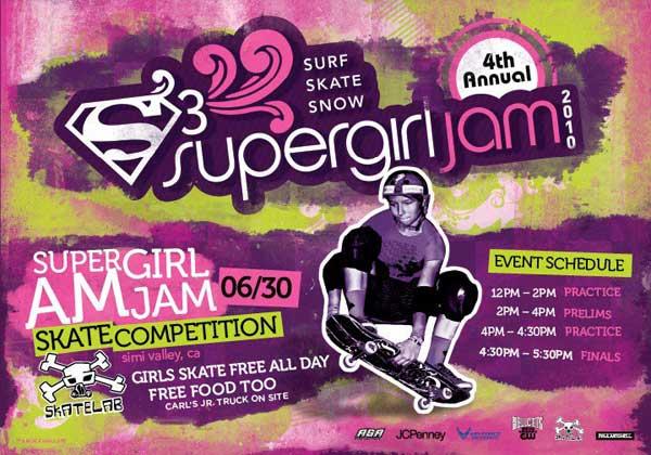 Supergirl Am Jam 2010