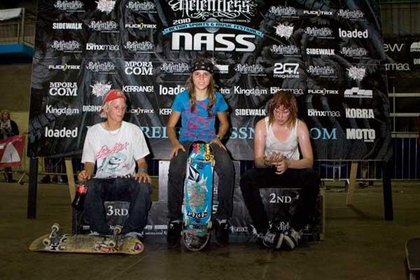 Relentless NASS Results 2010