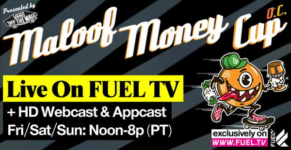 Watch Maloof Money Cup Live