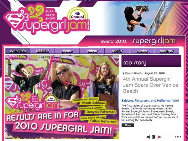 Supergirl Jam Coverage