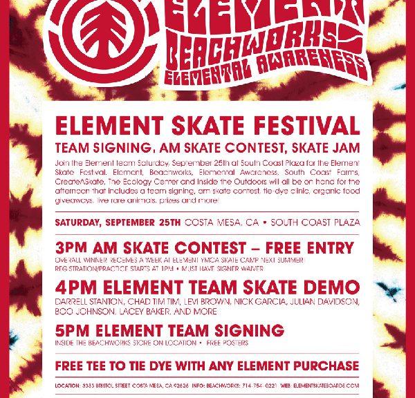 Element Demo Tomorrow