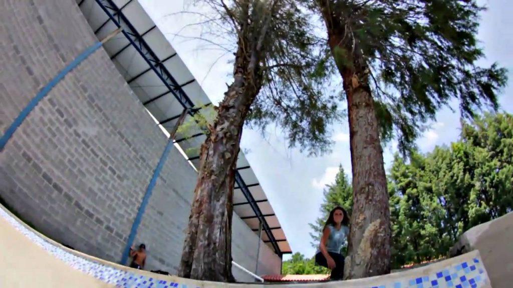 Leticia Bufoni At Brasil Skate Camp