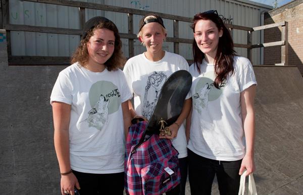 Girl Skate Jam UK Results 2011