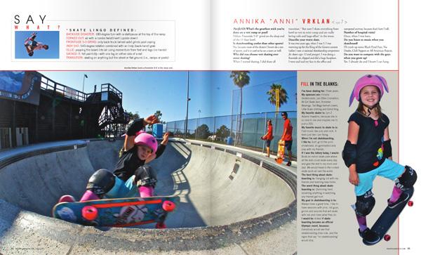 Annika Vrklan In Pacific SD Magazine