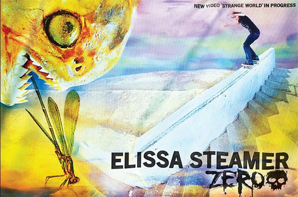 Elissa Steamer Parts Ways With Zero