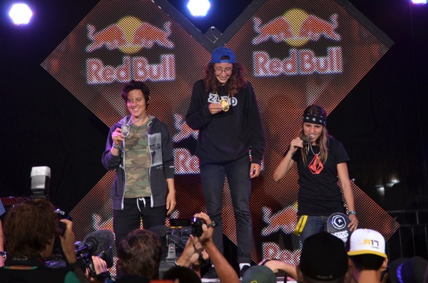 X Games Women's Street Results 2011