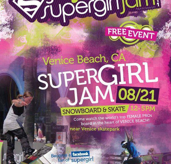 Supergirl Jam This Sunday!