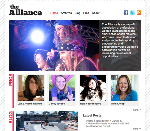New Alliance Site Is Up!