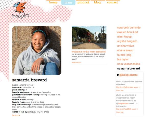 Hoopla Welcomes Samarria Brevard!