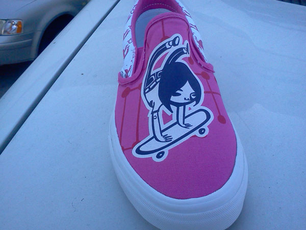 Vans X All Girl Skate Jam Slip-On