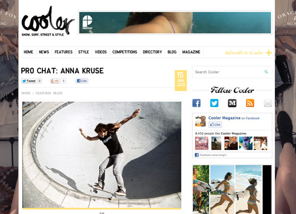 Cooler | Pro Chat: Anna Kruse