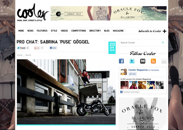 "Cooler | Pro Chat: Sabrina ""Puse"" Göggel"