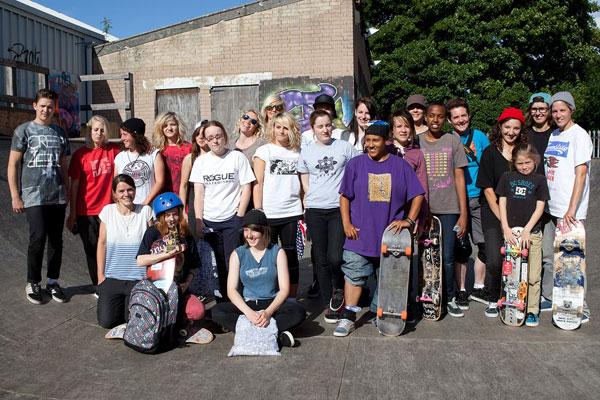 Girl Skate Jam UK Results 2012