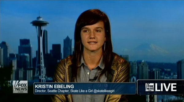 Skate Like A Girl On Fox News