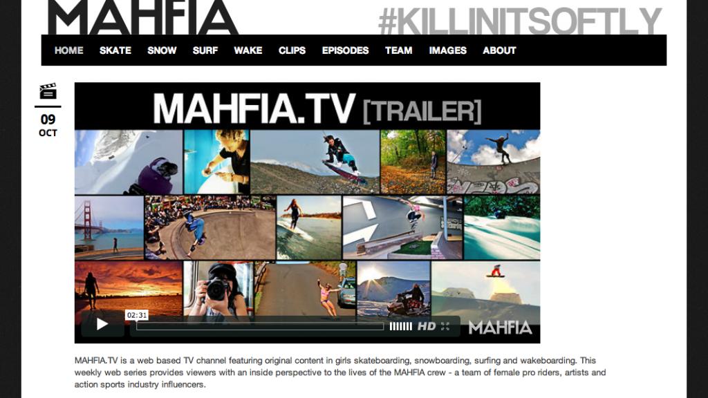 MAHFIA.TV Launches