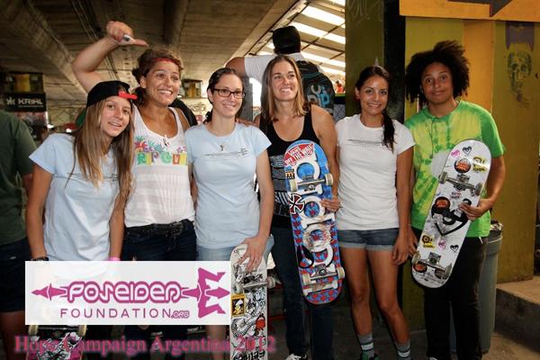 Poseiden Hope Campaign Argentina Tour 2012