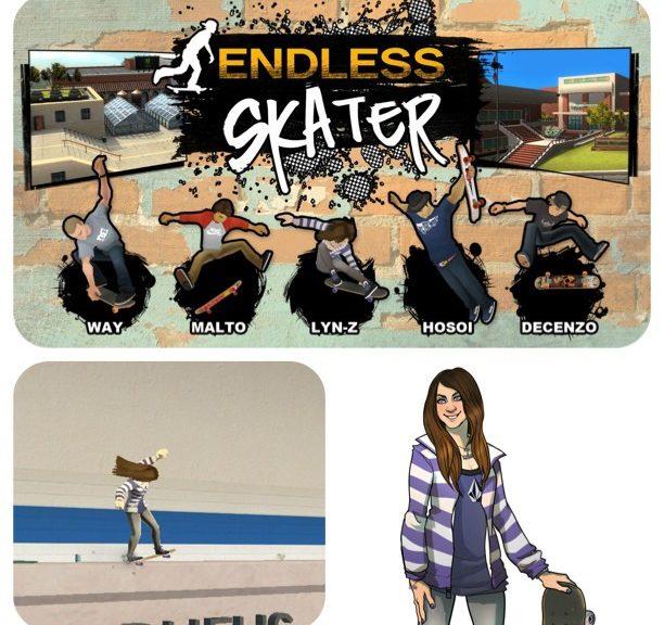 Lyn-Z In Endless Skater