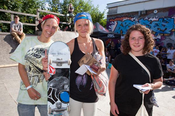 Girl Skate Jam UK Results 2013