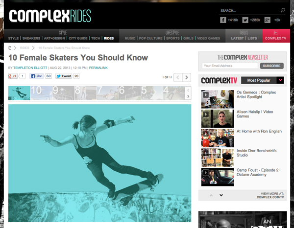 Complex Mag's 10 You Should Know