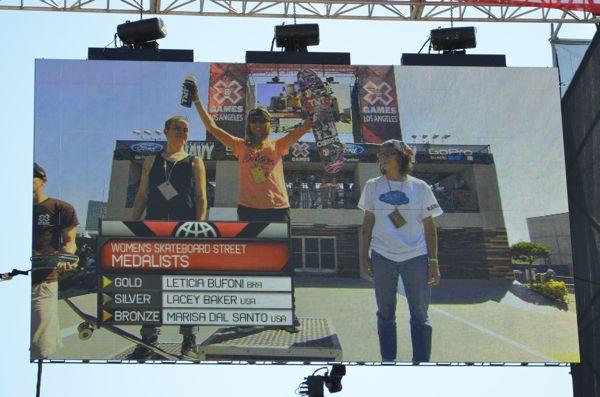 X Games LA Women's Street Results 2013