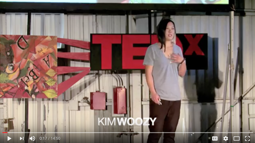 TEDx Talk   Kim Woozy: If She Can Do It, So Can I
