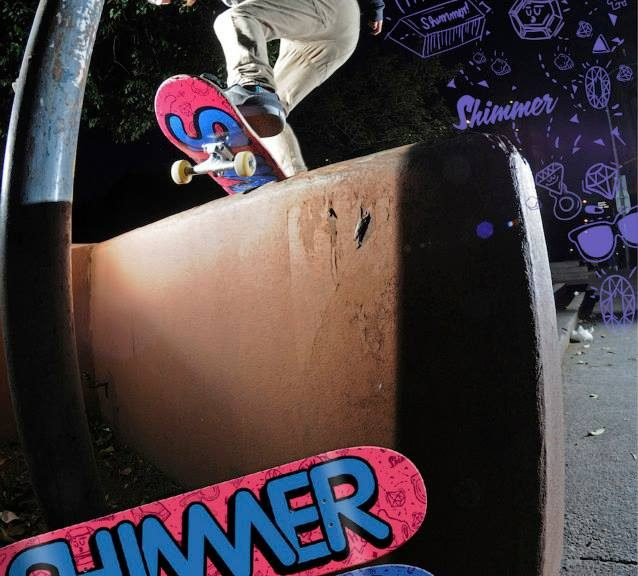 Shimmer Skate Co. | Wendy Soler Ad