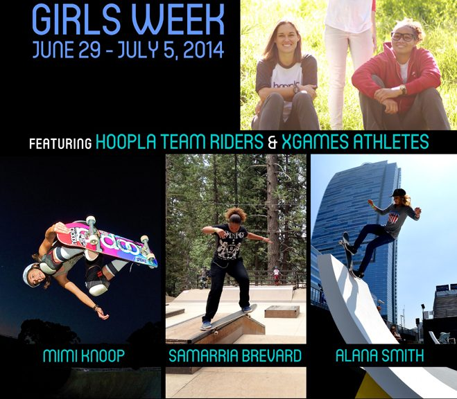 Woodward Tahoe Girls Week