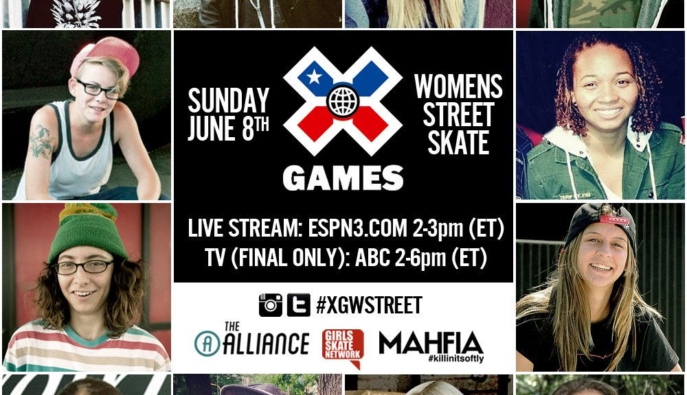X Games Women's Street Airing On ABC