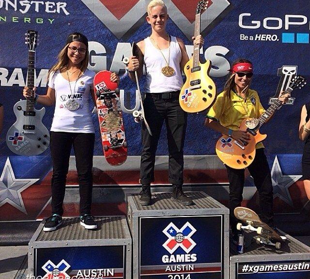 X Games Women's Street Results 2014