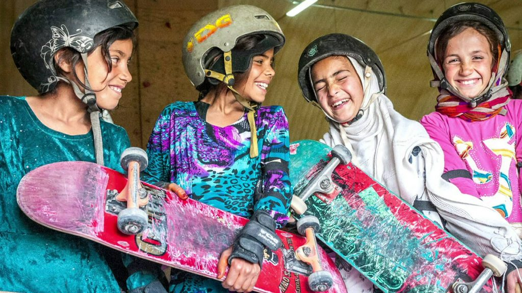 BBC | The Afghan Girls Allowed to Skate but not Cycle