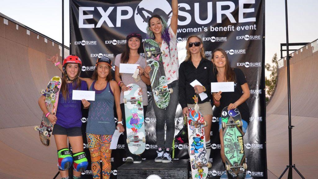 Exposure 2014 – Women's Bowl & Vert