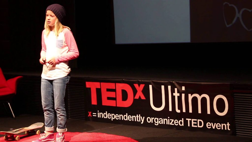 TEDx Talk | Poppy Starr Olsen: The blurred lines of art and skateboarding