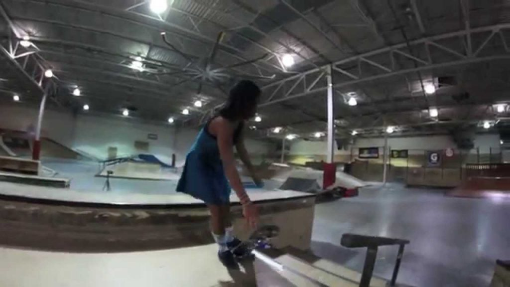 Christiana Smith – Skating In A Dress?
