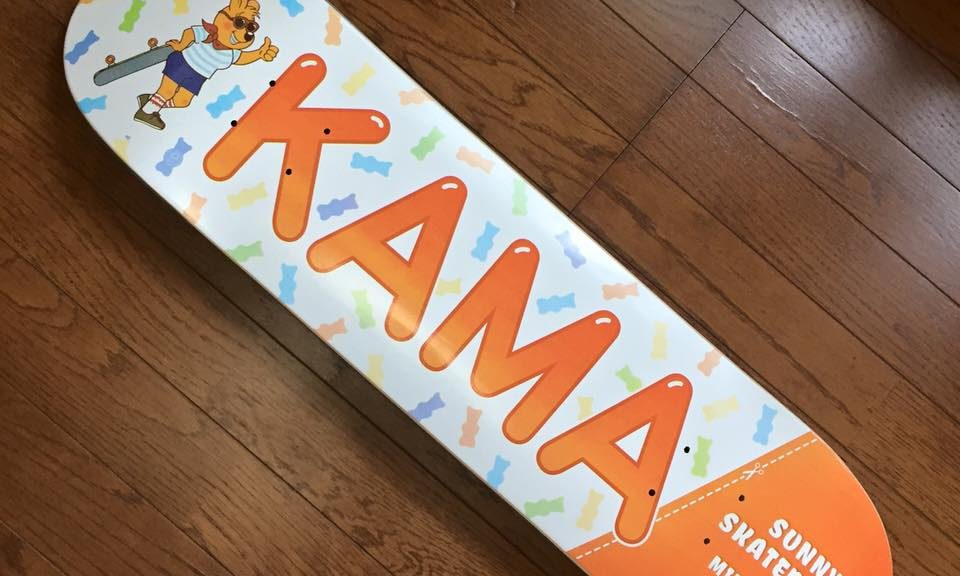"Sunny Skateboards ""Kama"" Pro Model Now Available"