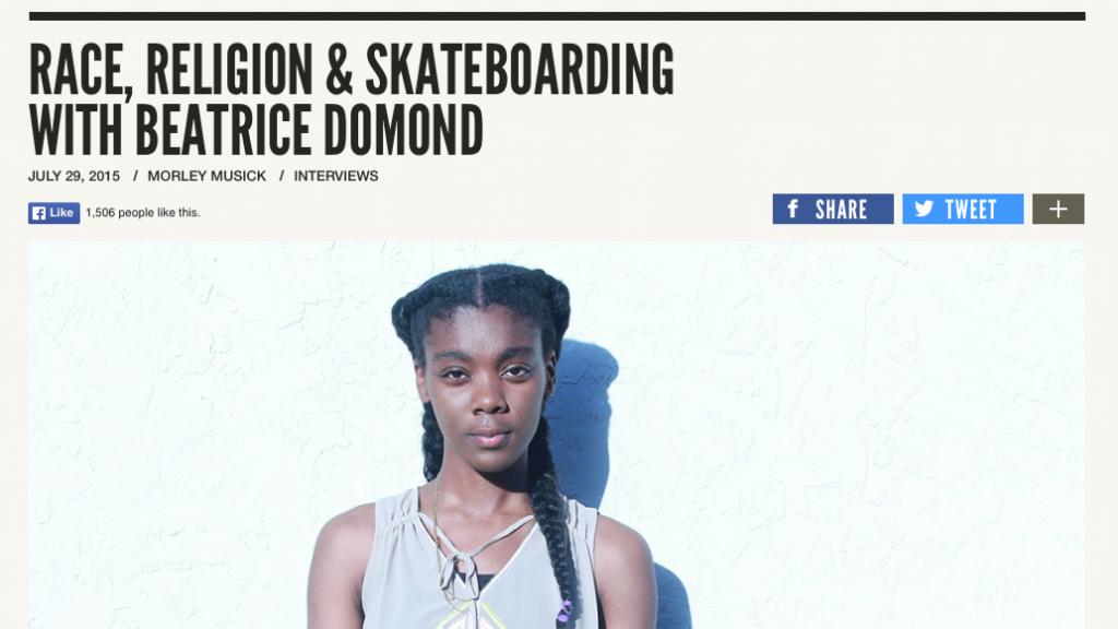 Jenkem | Race, Religon & Skateboarding with Beatrice Domond
