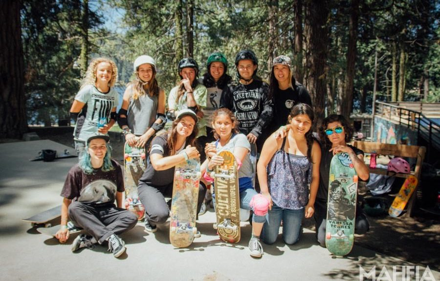 MAHFIA.TV | Girls Week at Element Skate Camp