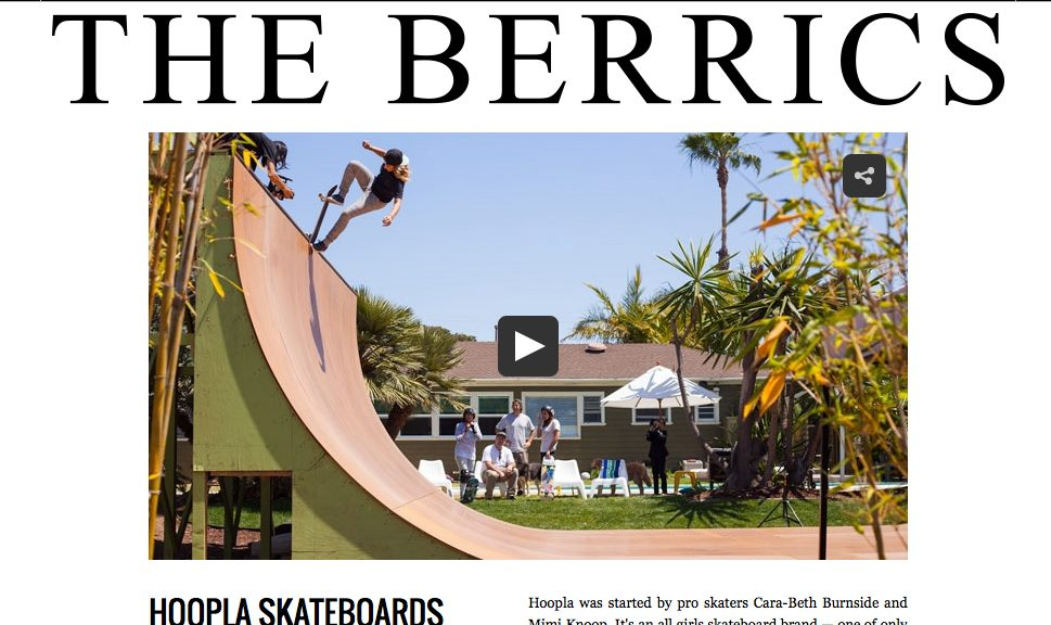 The Berrics | Hoopla Skateboards