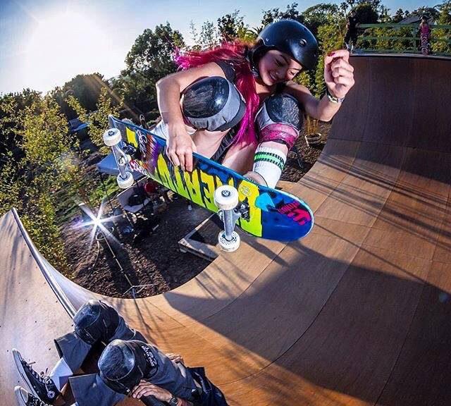 Allysha Bergado Welcomed to Creature Skateboards
