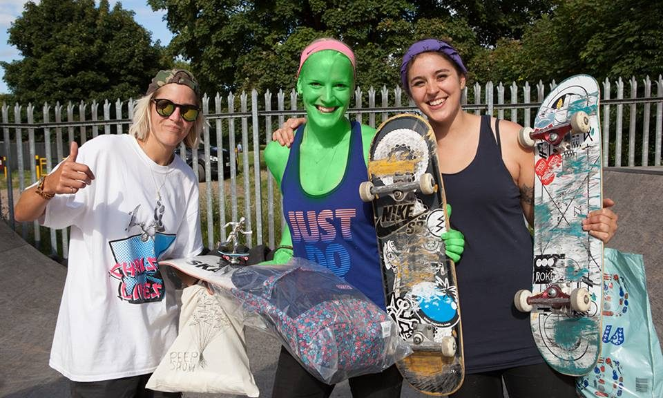 Girl Skate Jam UK Results 2015