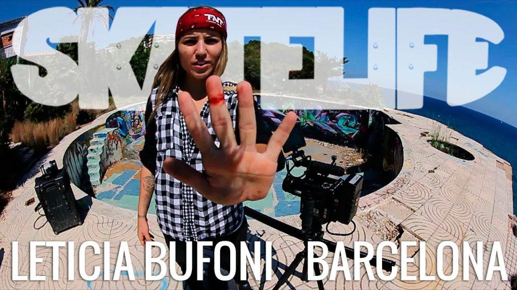 Leticia Bufoni #SKATELIFE | Projeto Push em Barcelona