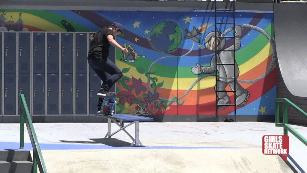 Blog Cam #44 – X Games Girls Street Practice