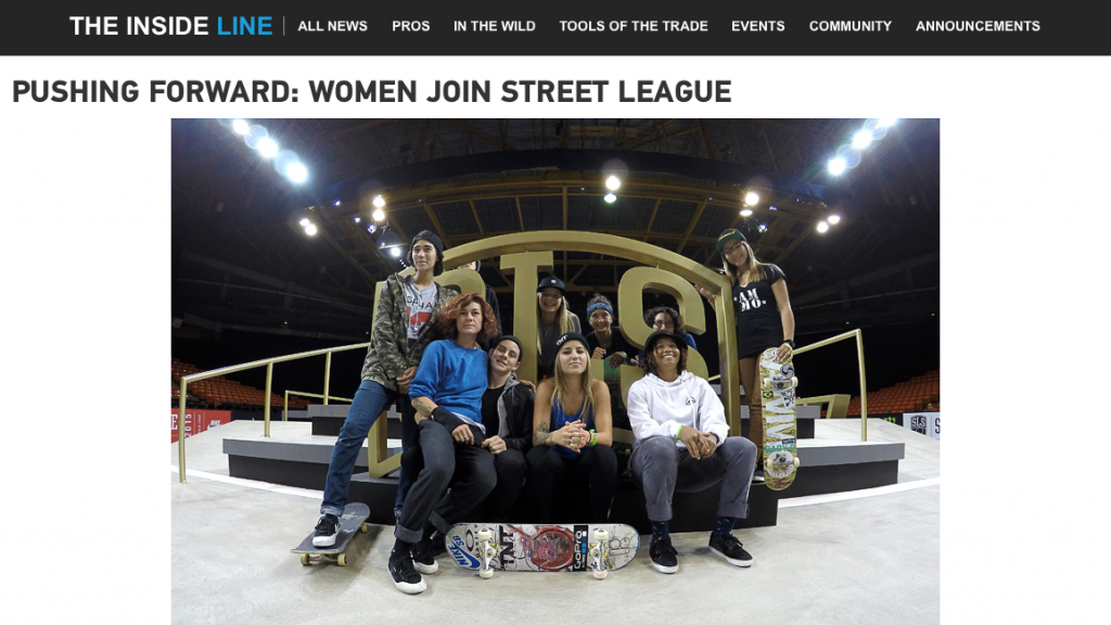 GoPro | Pushing Forward: Women Join Street League