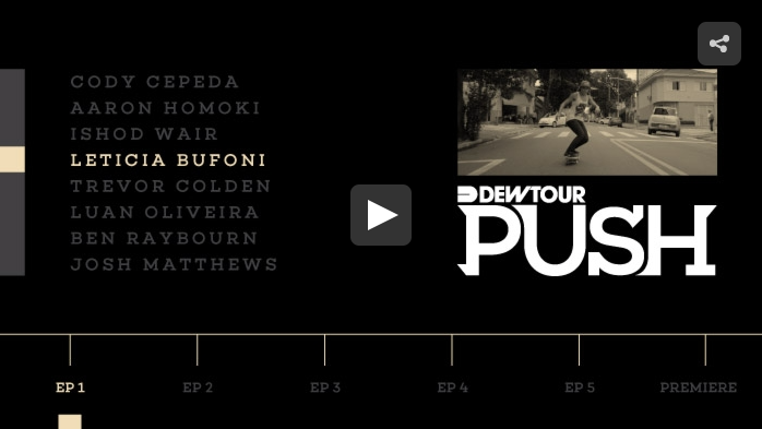 PUSH – Leticia Bufoni | Episode 1